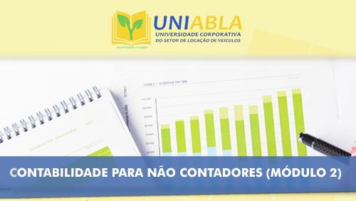 """UNIABLA promoverá em Palmas-TO dia 23/10 o curso """"Contabilidade para não contadores – Módulo 2"""""""