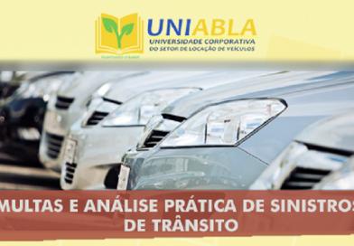 """UNIABLA promoverá em São Paulo-SP dia 26/10 o curso """"Multas e Análise Prática de Sinistros de Trânsito"""""""