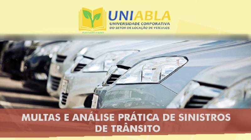 """UNIABLA promoverá em Maceió-AL dia 27/09 o curso """"Multas e Análise Prática de Sinistros de Trânsito"""""""