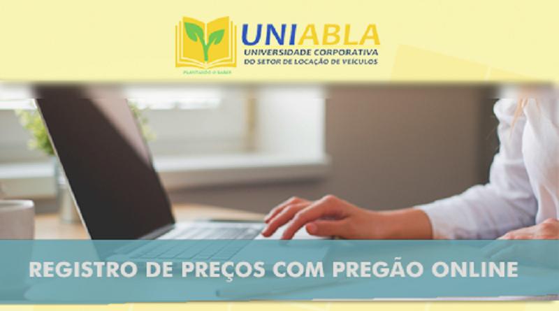 """UNIABLA promoverá em Porto Alegre-RS dia 13/08 o curso """"Registro de Preços com Pregão Online"""""""