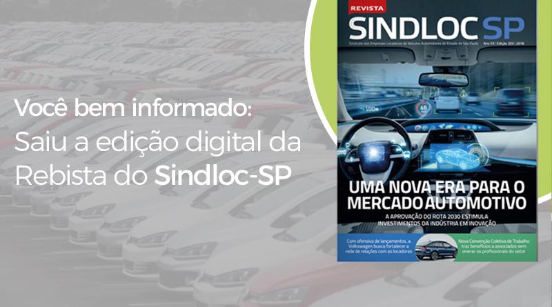 Leia a edição digital da Revista do SINDLOC-SP
