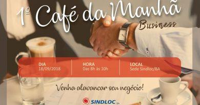 SINDLOCBA   1º Café da manhã business