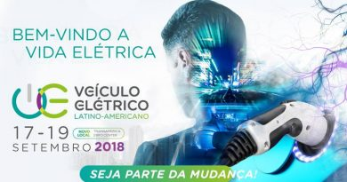 Visitantes podem testar diferentes modelos no Veículo Elétrico Latino-Americano