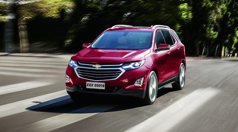 Chevrolet Equinox sofre recall por problema nos freios