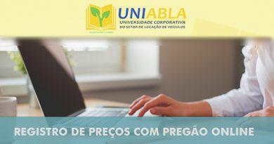 Registro de preços com pregão online – Curitiba 06/10