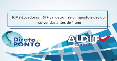 ICMS-Locadoras | STF vai decidir se o imposto é devido nas vendas antes de 1 ano
