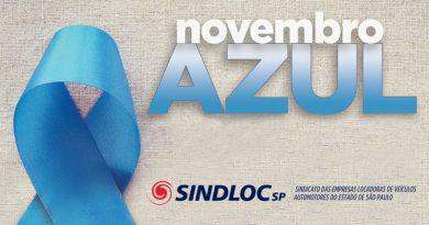 Novembro azul SINDLOC-SP