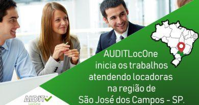 AUDITLocOne inicia os trabalhos atendendo locadoras na região de São José dos Campos – SP