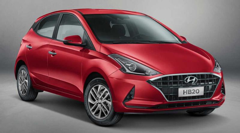 Hyundai vende lote de 600 HB20 para a locadora Ouro Verde