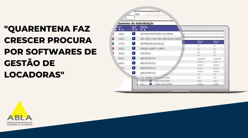 QUARENTENA FAZ CRESCER PROCURA POR SOFTWARES DE GESTÃO DE LOCADORAS