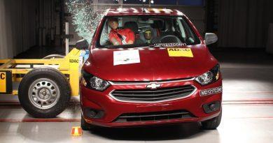 Ministério Público em Uberlândia pede que Justiça determine recall de Chevrolet Onix no Brasil — Foto: Latin NCap/Divulgação