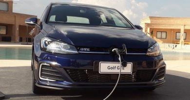 VW Golf GTE tem frota vendida para locadora Unidas Foto: Divulgação/Volkswagen