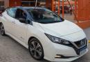 Movida busca nichos com elétrico Nissan Leaf