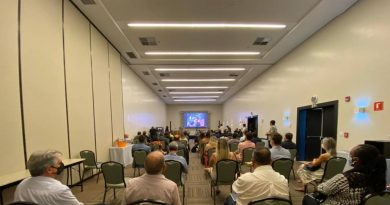 Grupo Meon reúne Ministério, prefeitos eleitos e secretarias em seminário sobre retomada do turismo na RMVale. Imagem: Divulgação Meon