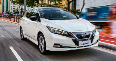 Nissan e Itaú (vec Itaú) juntos. Pelo aplicativo, usuários poderão retirar o Leaf em uma estação de aluguel e devolvê-lo em outra