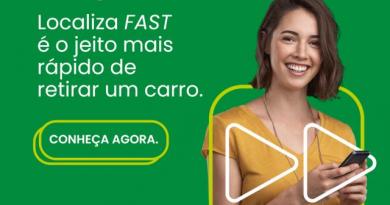 Localiza FAST apresenta um serviço 100% digital de aluguel de carros, para clientes que cada vez mais se acostuma a usar seu aparelho celular para tudo.