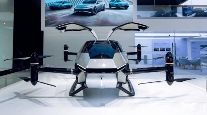 Xpeng, a rival chinesa da Tesla, quer lançar seu primeiro carro voador em 2024